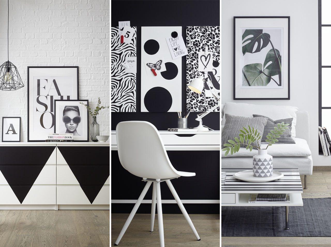 d-c-home | DIY Wohnideen: Cool und kontrastreich