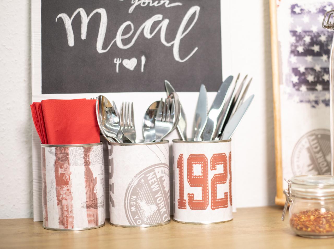 Comment Décorer Des Boites De Conserve d-c-home | l'upcycling, la nouvelle tendance décoration
