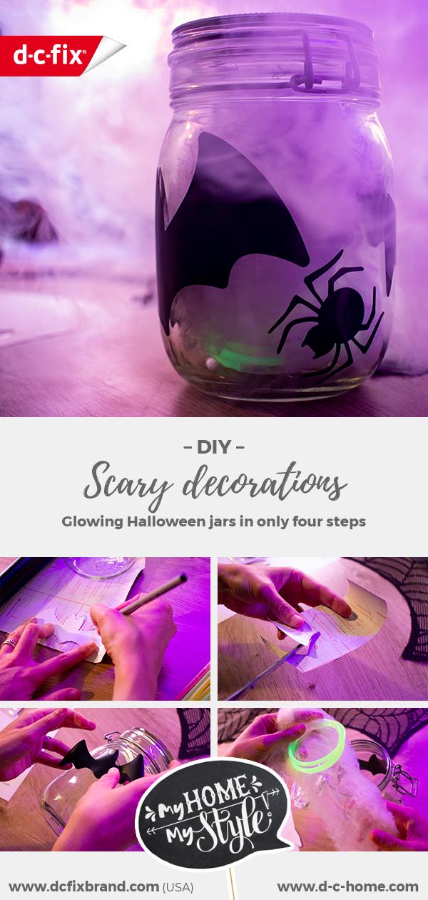 dcfix Deko Klebefolie Dekofolie DIY Party Halloween Dekoration