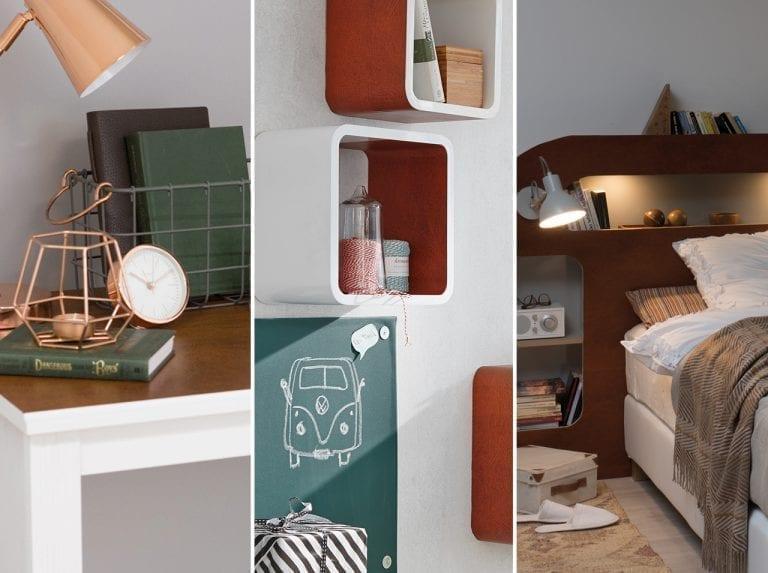 dcfix Möbel Klebefolie Dekofolie DIY Deko Schlafzimmer Büro Arbeitsplatz Lederoptik