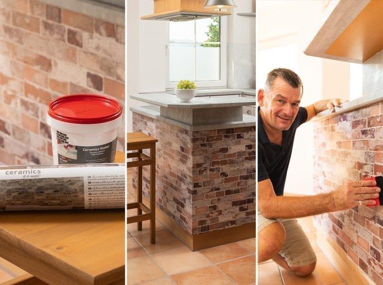 dcfix Wand Ceramics DIY Deko Küche Tisa Mark Kühler