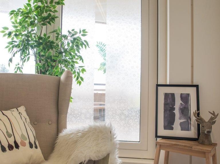 dcfix Fenster Fensterfolie DIY Deko Sichtschutz Wohnzimmer