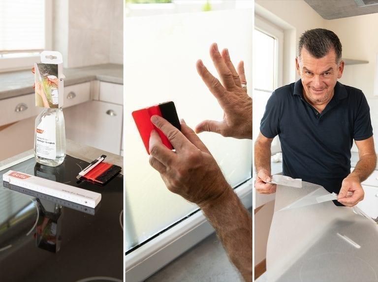 dcfix Fenster Fensterfolie DIY Deko Küche Mark Kühler