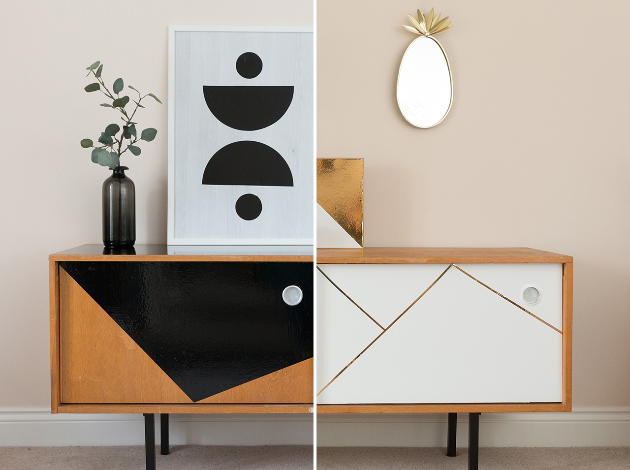 dcfix Möbel Klebefolie Dekofolie DIY Deko Wohnzimmer Sideboard