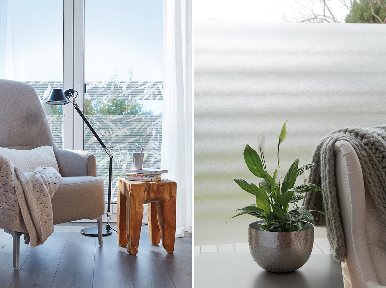 dcfix Fenster Fensterfolie DIY Deko Sichtschutz